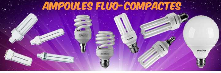 Ampoules Sylvania fluo-compactes